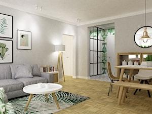 mieszkanie mokotów 80m2 w stylu urban jungle 2