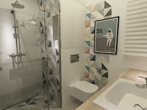 Dzień dobry :) czy pamięta może Pani, jakich płytek użyto w tej łazience? Mam na myśli te kolorowe, jak również białe :)