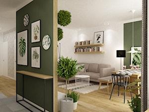 mieszkanie 70m2 w stylu urban jungle