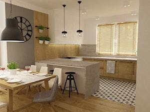 Projekt mieszkania 90m2 ochota