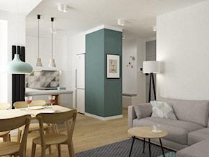 mieszkanie minimalistyczne 2 pokojowe