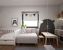 dom biel i grafit - Pokój dziecka, styl skandynawski - zdjęcie od Grafika i Projekt architektura wnętrz - Homebook