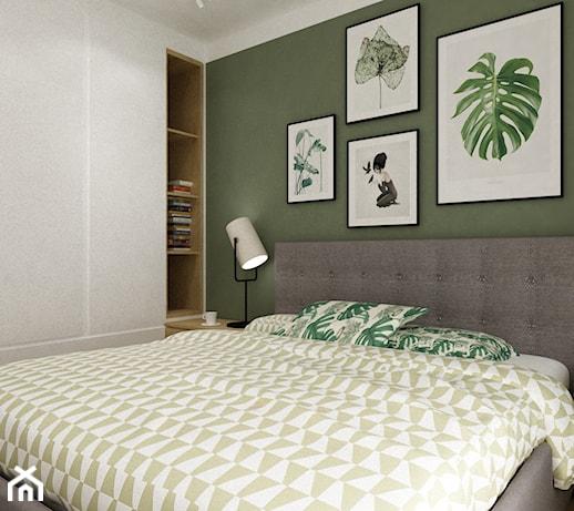 Zielone Sciany W Sypialni Pomysly Inspiracje Z Homebook