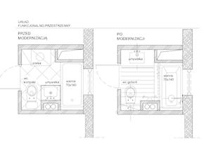 metamorfoza małej łazienki 3,5 m2
