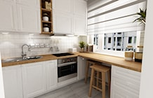 Kuchnia styl Prowansalski - zdjęcie od Grafika i Projekt architektura wnętrz