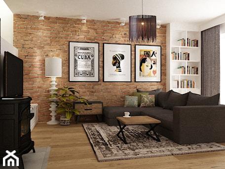 Aranżacje wnętrz - Salon: Dom w Stylu Neokolonialnym poznań - Średni salon z bibiloteczką, styl eklektyczny - Grafika i Projekt architektura wnętrz. Przeglądaj, dodawaj i zapisuj najlepsze zdjęcia, pomysły i inspiracje designerskie. W bazie mamy już prawie milion fotografii!