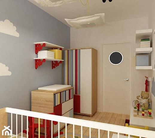 Ogromny szafy przesuwne z grafiką na szkle - pomysły, inspiracje z homebook RD41