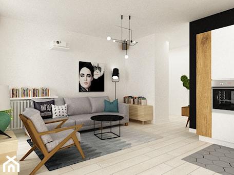Aranżacje wnętrz - Salon: pianohouse powisle warszawa mieszkanie 73 m2 - Średni biały czarny salon z kuchnią, styl nowoczesny - Grafika i Projekt architektura wnętrz. Przeglądaj, dodawaj i zapisuj najlepsze zdjęcia, pomysły i inspiracje designerskie. W bazie mamy już prawie milion fotografii!