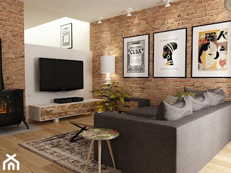 Aranżacje wnętrz - Salon: Dom w Stylu Neokolonialnym poznań - Mały biały salon, styl eklektyczny - Grafika i Projekt architektura wnętrz. Przeglądaj, dodawaj i zapisuj najlepsze zdjęcia, pomysły i inspiracje designerskie. W bazie mamy już prawie milion fotografii!