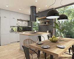 KUCHNIA+w+domku+jednorodzinnym+-+zdj%C4%99cie+od+Magdalena+Tomczak+-+Architekt+wn%C4%99trz
