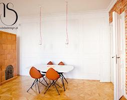 Projekt jadalni. Kamienica w Warszawie. - zdjęcie od http://www.subdadesign.pl