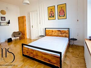Projekt sypialni. kamienica w Warszawie. - zdjęcie od http://www.subdadesign.pl