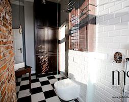 Projekt łazienki. Kamienica w Warszawie. - zdjęcie od http://www.subdadesign.pl