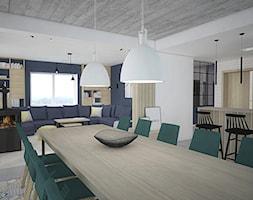 Kolor w domu - Jadalnia, styl skandynawski - zdjęcie od Antracyt - Homebook