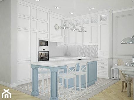 Aranżacje wnętrz - Kuchnia: Dom pod Warszawą - Kuchnia, styl nowojorski - Antracyt. Przeglądaj, dodawaj i zapisuj najlepsze zdjęcia, pomysły i inspiracje designerskie. W bazie mamy już prawie milion fotografii!