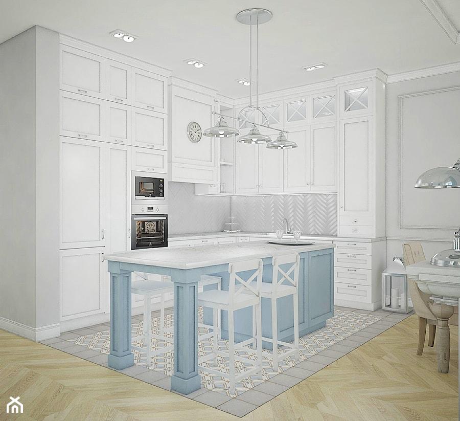 Dom pod Warszawą - Kuchnia, styl nowojorski - zdjęcie od Antracyt