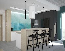 Kolor w domu - Kuchnia, styl skandynawski - zdjęcie od Antracyt - Homebook