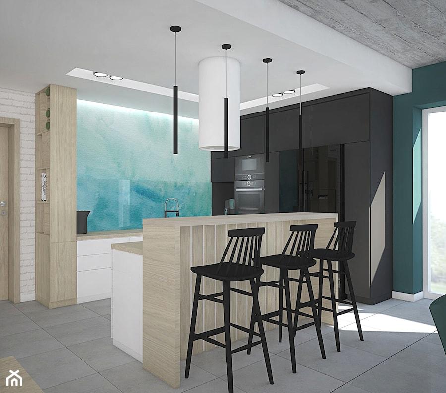Kolor w domu - Kuchnia, styl skandynawski - zdjęcie od Antracyt