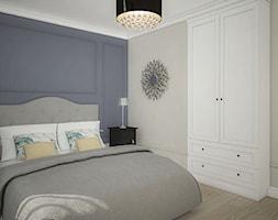 Elegancja w domu parterowym - Sypialnia, styl eklektyczny - zdjęcie od Antracyt - Homebook