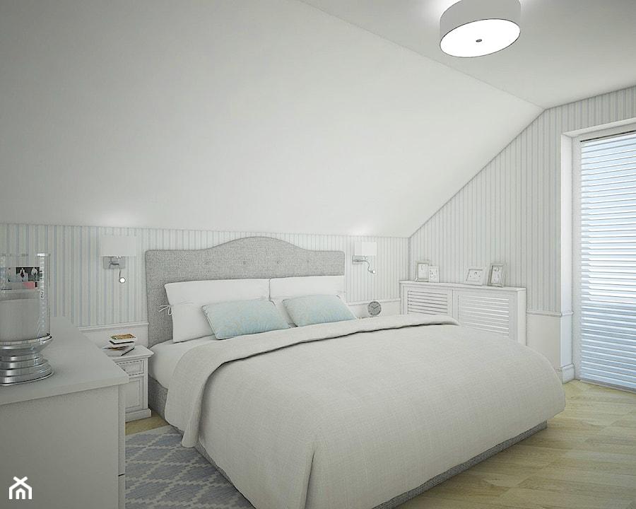 Dom pod Warszawą - Sypialnia, styl nowojorski - zdjęcie od Antracyt