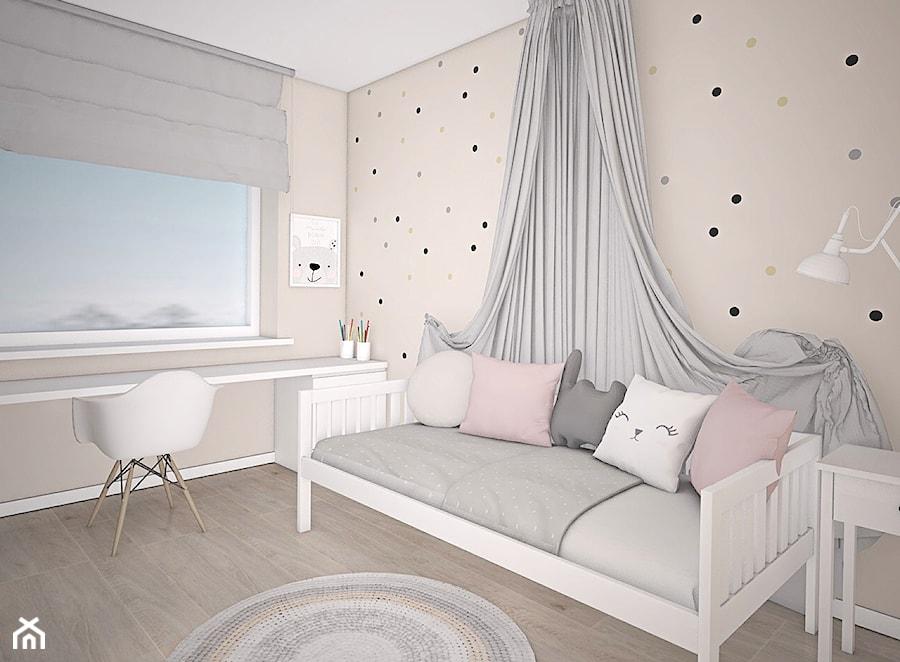 Kolor w domu - Pokój dziecka, styl skandynawski - zdjęcie od Antracyt