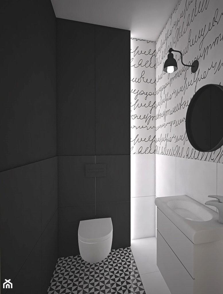 Kolor w domu - Łazienka, styl skandynawski - zdjęcie od Antracyt