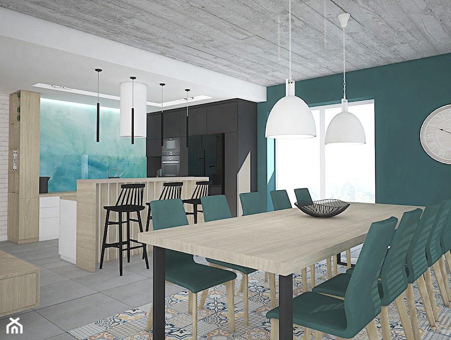 Kolor w domu - Jadalnia, styl skandynawski - zdjęcie od Antracyt