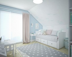 Dom pod Warszawą - Pokój dziecka, styl skandynawski - zdjęcie od Antracyt - Homebook