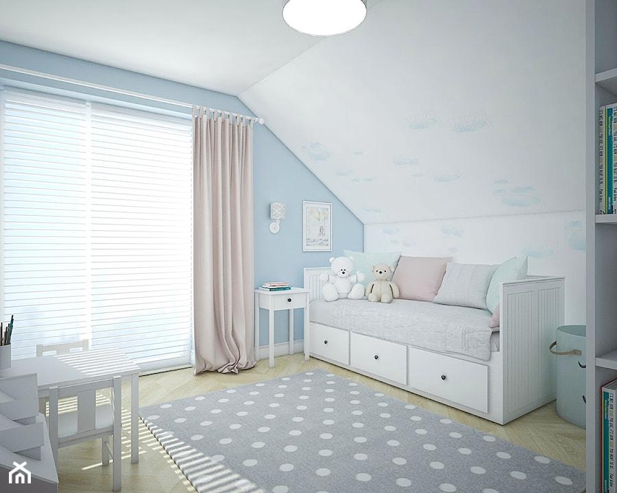 Dom pod Warszawą - Pokój dziecka, styl skandynawski - zdjęcie od Antracyt