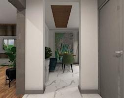 Nowoczesna klasyka - Średni biały hol / przedpokój, styl nowoczesny - zdjęcie od MONOdizajn Architektura i Wnętrza