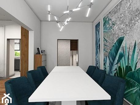 Aranżacje wnętrz - Jadalnia: Nowoczesna klasyka - Średnia otwarta biała zielona jadalnia jako osobne pomieszczenie, styl art deco - MONOdizajn Architektura i Wnętrza. Przeglądaj, dodawaj i zapisuj najlepsze zdjęcia, pomysły i inspiracje designerskie. W bazie mamy już prawie milion fotografii!