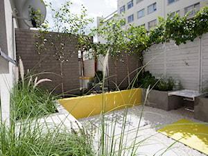 SALON POD CHMURKĄ - Średni ogród za domem, styl nowoczesny - zdjęcie od MARTA PERSKA INTERIORS