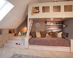 POKÓJ DZIECIĘCY - Średni pokój dziecka dla dziewczynki dla malucha, styl nowoczesny - zdjęcie od PERSKA STUDIO projektowanie wnętrz