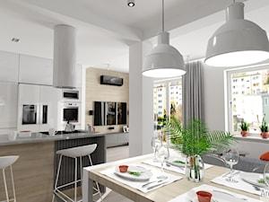 Projekt mieszkania w stylu nowoczesnym M01_2018 Świdnica
