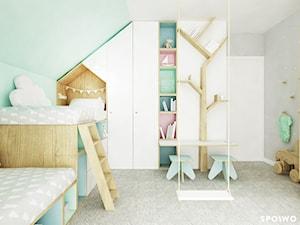 Sypialnia dziewczynek - zdjęcie od SPOIWO studio