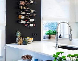 Mieszkanie z elementami zieleni - zdjęcie od Kwadraton
