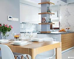 Salon w stylu skandynawskim. - zdjęcie od Kwadraton
