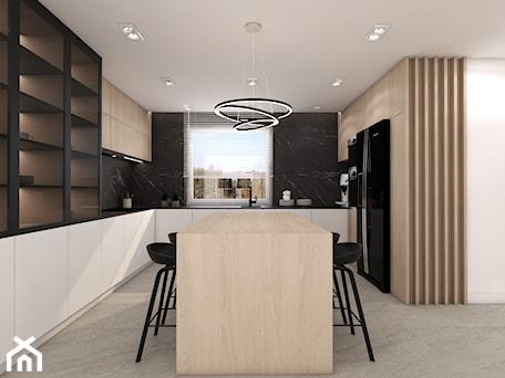 Aranżacje wnętrz - Kuchnia: dom Lipusz - Kuchnia, styl minimalistyczny - ESEF.STUDIO. Przeglądaj, dodawaj i zapisuj najlepsze zdjęcia, pomysły i inspiracje designerskie. W bazie mamy już prawie milion fotografii!