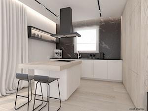 dom Trzaskowo - Kuchnia, styl minimalistyczny - zdjęcie od ESEF.STUDIO