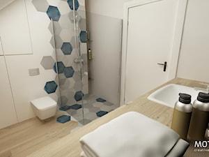 Łazienka przy sypialni - zdjęcie od MOTHI.form