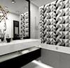 łazienka z dekorem - zdjęcie od MOTHI.form