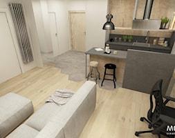 Salon z kuchnią - zdjęcie od MOTHI.form
