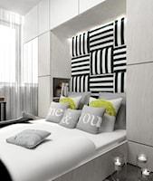 sypialnia w szarościach - zdjęcie od MOTHI.form