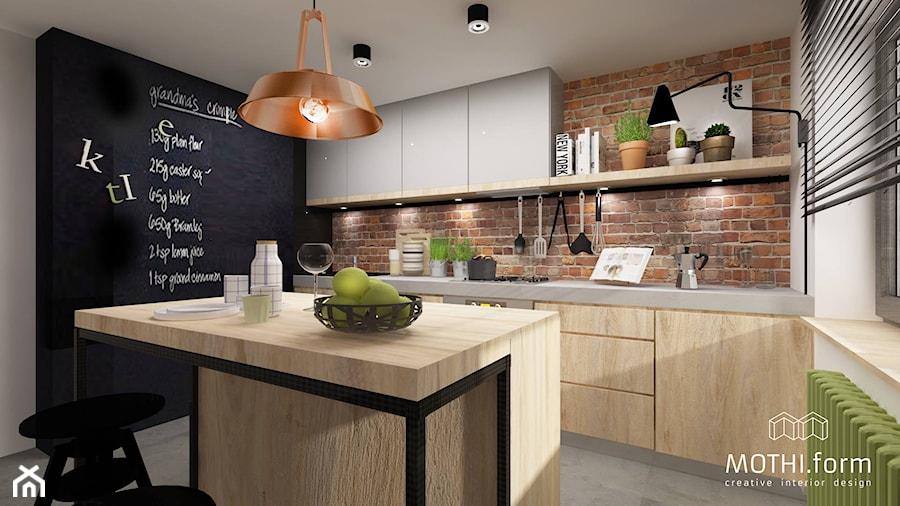 kuchnia rustykalna  zdjęcie od MOTHI form