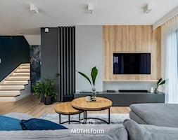 MOTHI.FORM ⋅ INSPIRUJĄCY DOM ⋅ BIBICE - Salon, styl nowoczesny - zdjęcie od MOTHI.form - Homebook