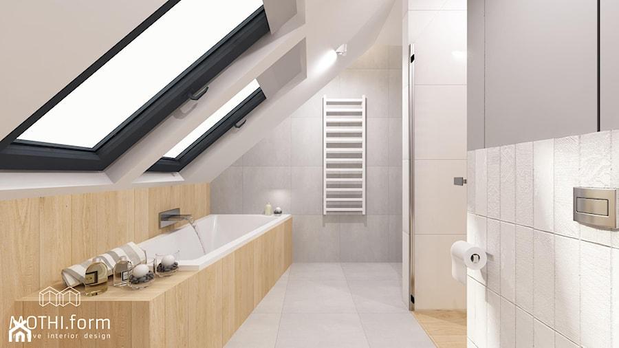 Łazienka na piętrze - zdjęcie od MOTHI.form
