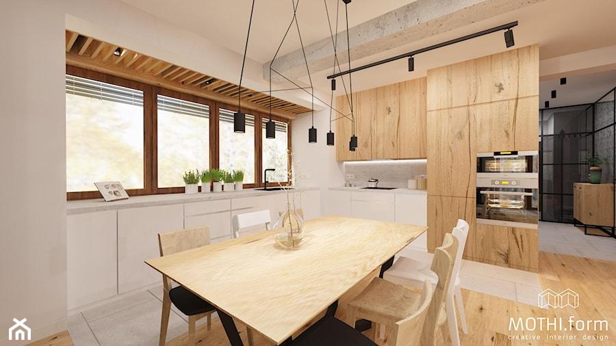 MOTHI.FORM ⋅ INDUSTRIALNY DOM ⋅ KOKOTÓW - Kuchnia, styl industrialny - zdjęcie od MOTHI.form
