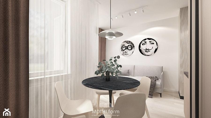 MOTHI.FORM ⋅ ELEGANCKA KAWALERKA POD WYNAEJM ⋅ KRAKÓW - Salon, styl nowoczesny - zdjęcie od MOTHI.form