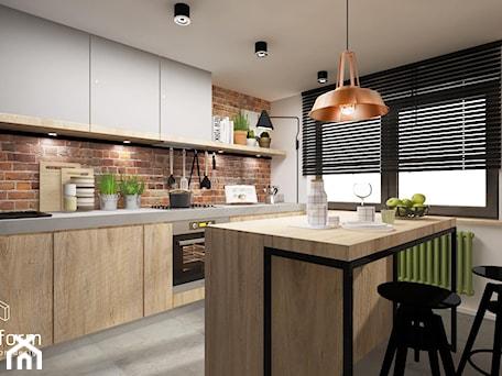 Aranżacje wnętrz - Kuchnia: kuchnia rustykalna - MOTHI.form. Przeglądaj, dodawaj i zapisuj najlepsze zdjęcia, pomysły i inspiracje designerskie. W bazie mamy już prawie milion fotografii!