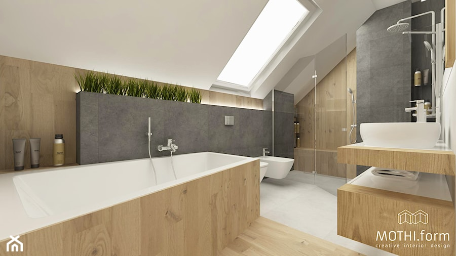 Główna łazienka - zdjęcie od MOTHI.form